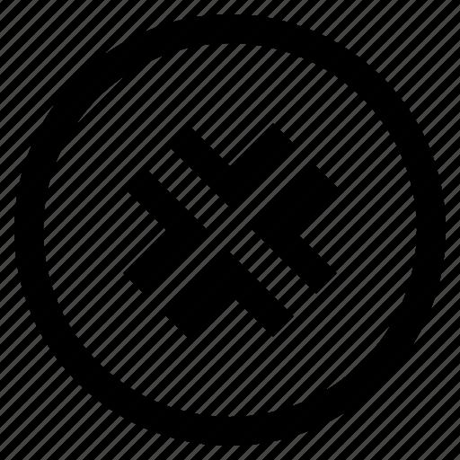 arrow, arrows, direction, minimize icon