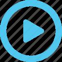 arrow, cinema, direction, film, media, movie, play