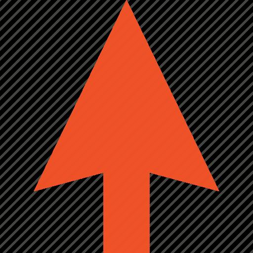 arrow, click, cursor, direction, mouse, pointer, up icon