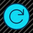 arrow, clockwise, refresh, rotate