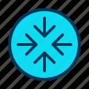 arrow, bearing, pointer, scale icon