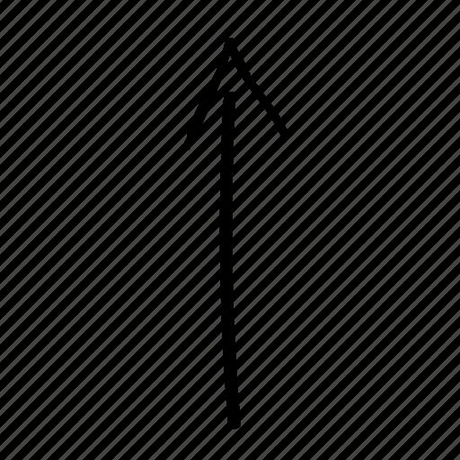 arrow, arrow top, line, run, scroll, top, up icon