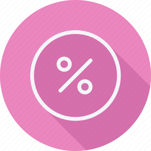 arrow, direction, discount, navigation, persentage, pointer, sign icon