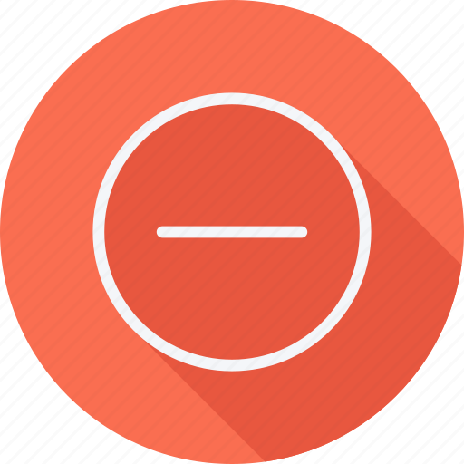 Arrow, arrows, direction, navigation, pointer, sign, minus icon - Download on Iconfinder