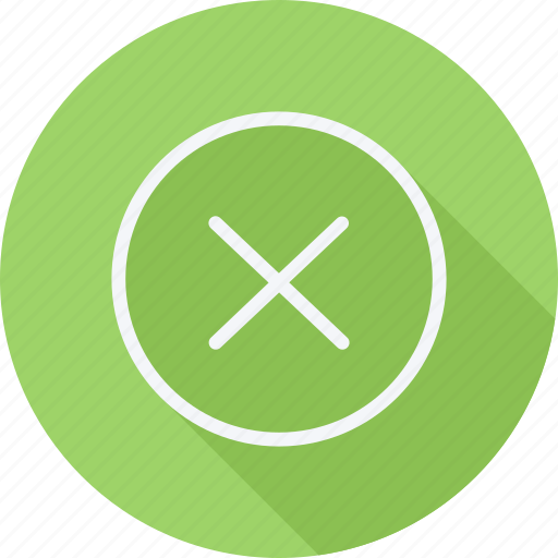 arrow, cancel, cross, direction, navigation, pointer, sign icon