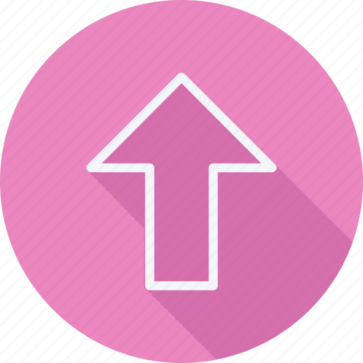 Arrow, arrows, direction, navigation, pointer, sign, upload icon - Download on Iconfinder