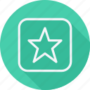 arrow, bookmark, direction, favorite, navigation, pointer, star icon