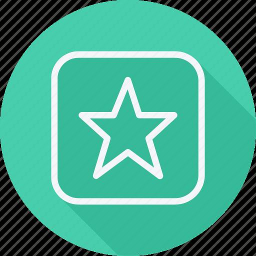 Arrow, direction, navigation, pointer, bookmark, favorite, star icon - Download on Iconfinder