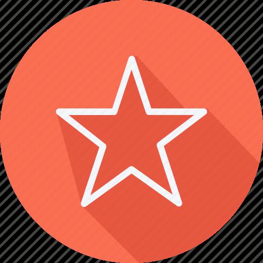 Arrow, direction, navigation, pointer, sign, bookmark, star icon - Download on Iconfinder