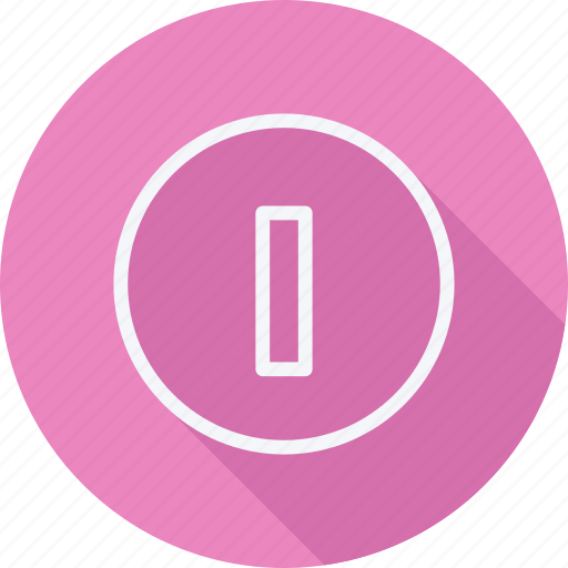 arrow, direction, in, navigation, off, pointer, power icon