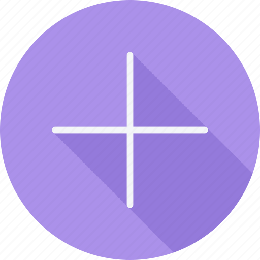 arrow, arrows, direction, navigation, plus, pointer, sign icon