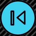 arrow, arrows, direction, directional, navigation, previous, sign icon