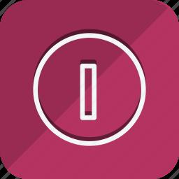 arrow, arrows, in, move, navigation, off, power icon