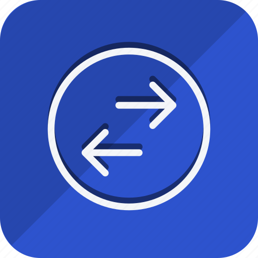arrow, direction, exchange, left, move, navigation, right icon