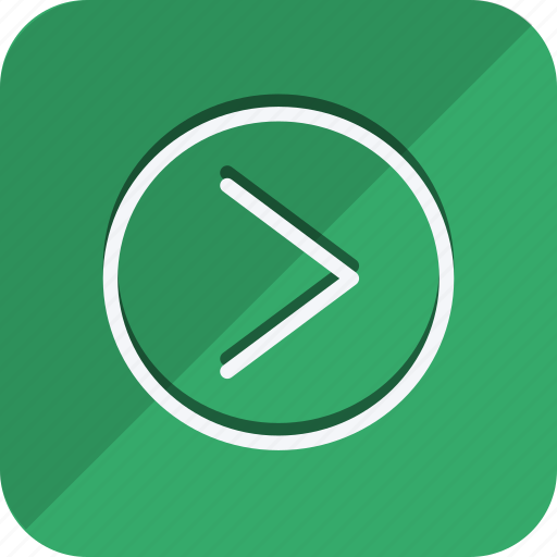 arrow, chevron, direction, move, navigate, navigation, right icon