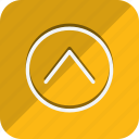 arrow, arrows, chevron, direction, move, navigation, up icon