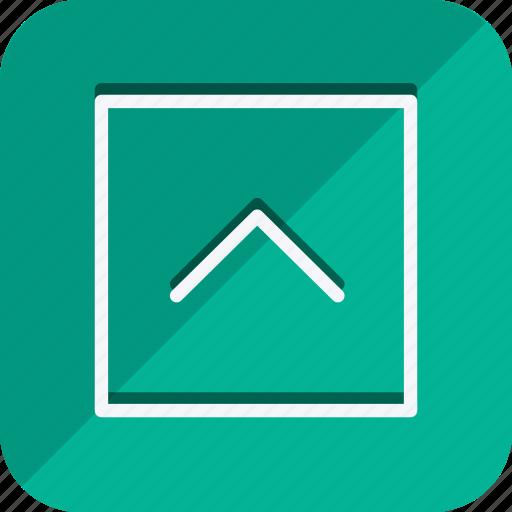 arrow, arrows, chevron, direction, move, navigation, up icon