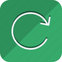 arrow, arrows, direction, move, navigation, repeate, rotate icon