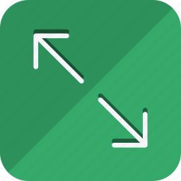 arrow, compress, direction, move, navigation, pointer, shrink icon