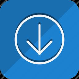 arrow, arrows, direction, download, move, navigate, navigation icon