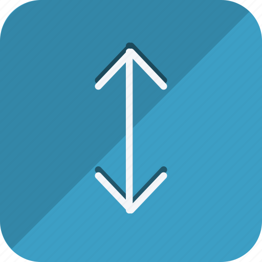 arrow, direction, double, doun, move, navigation, up icon