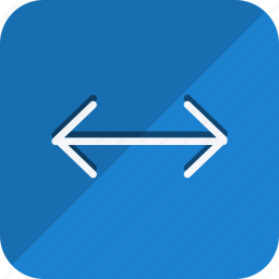 arrow, direction, double, left, move, navigation, right icon