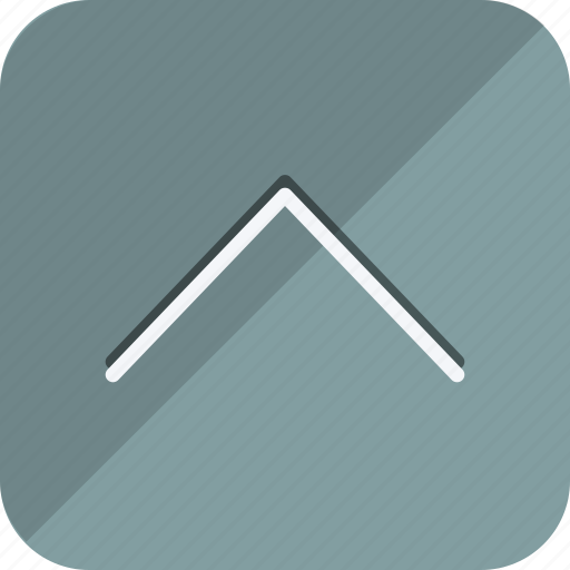 arrow, chevron, direction, move, navigation, up, upload icon