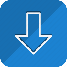 arrow, arrows, direction, down, download, move, navigation icon