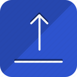 arrow, arrows, direction, move, navigation, up, upload icon