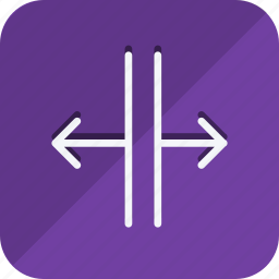 arrow, arrows, direction, enlarge, expand, move, navigation icon