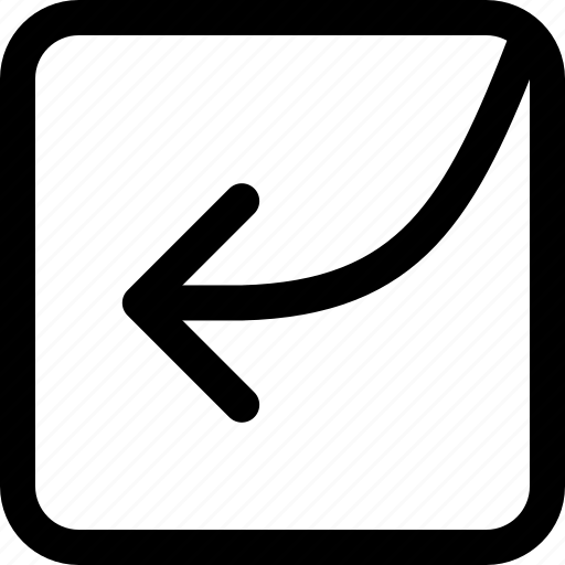 arrow, direction, left, navigation, side icon
