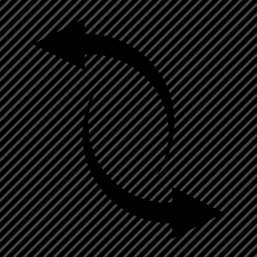 arrow, direction, exchange, flip, flipping, move, reverse icon