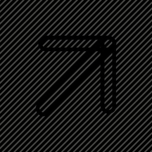 arrow, navigation, panah1 icon