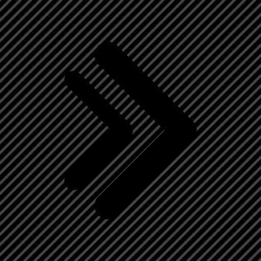 arrow, navigation, panah6 icon