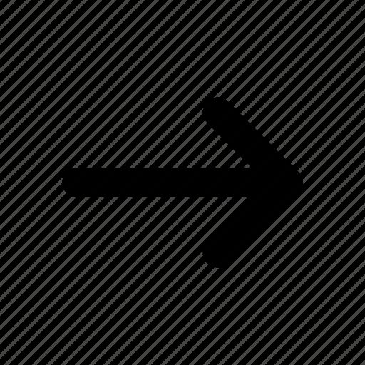 arrow, navigation, panah7 icon