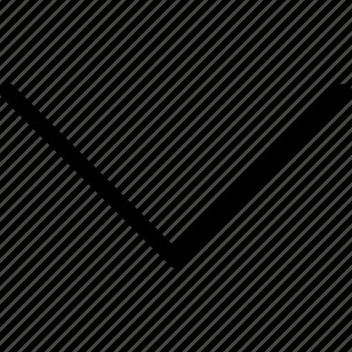 arrow, arrow down, arrow symbol, arrows, direction, down, navigation icon