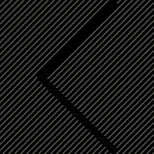 arrow, arrow left, arrow symbol, arrows, direction, left, left arrow icon