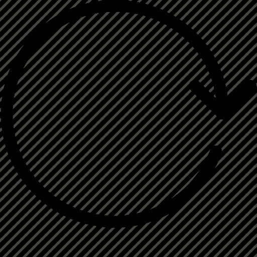 arrow, arrows, navigation, refresh, refreshing, reload icon