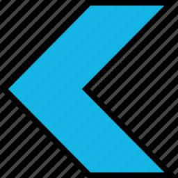 arrow, direction, exit, left, point icon