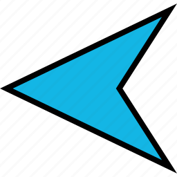 arrow, back, direction, left, point icon