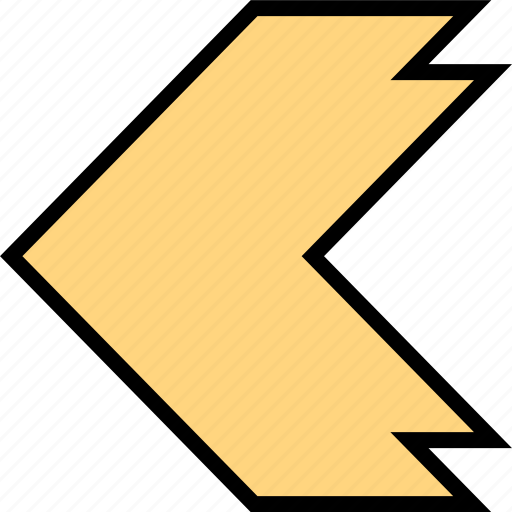 arrow, direction, left, point icon