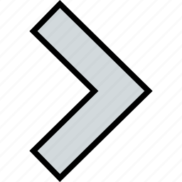 arrow, direction, point, right, side icon