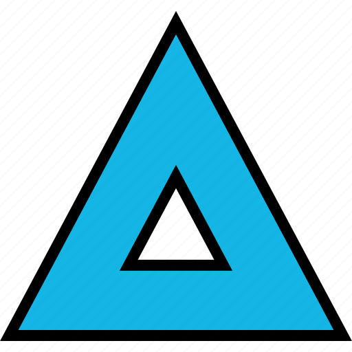 arrow, direction, point, triangle, up icon