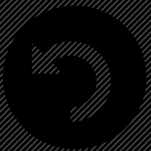arrowhead, arrows, bow, direction, load, marker, refresh icon