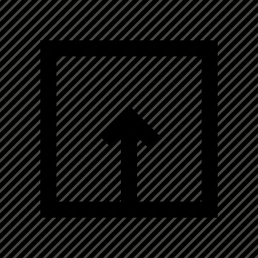 arrow, arrows, direction, up, upload, uploading icon