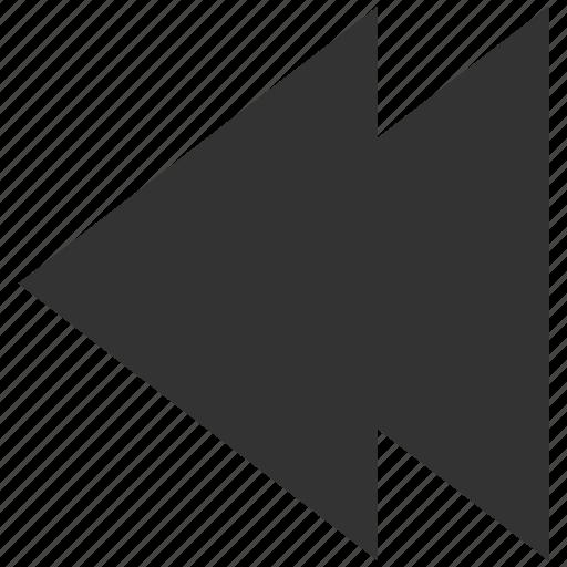 arrow, back, history, left, pointer, previous, undo icon