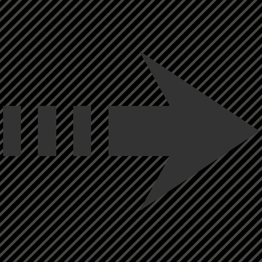 approve, continue, direction, forward, move, next, send right icon