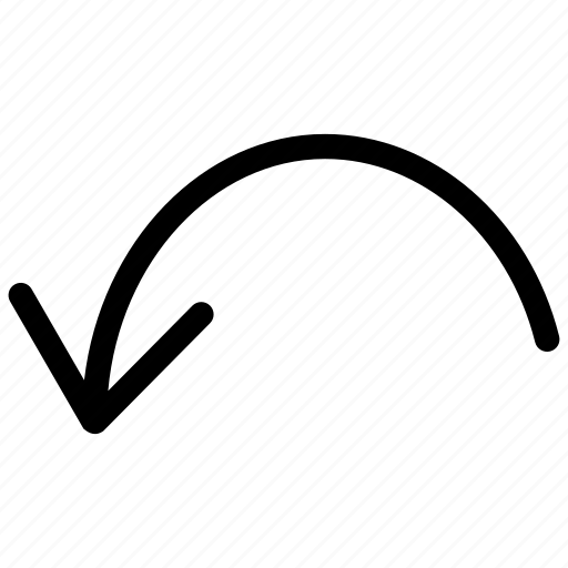 action, arrow, line, redo, rotate, tranform, undo icon