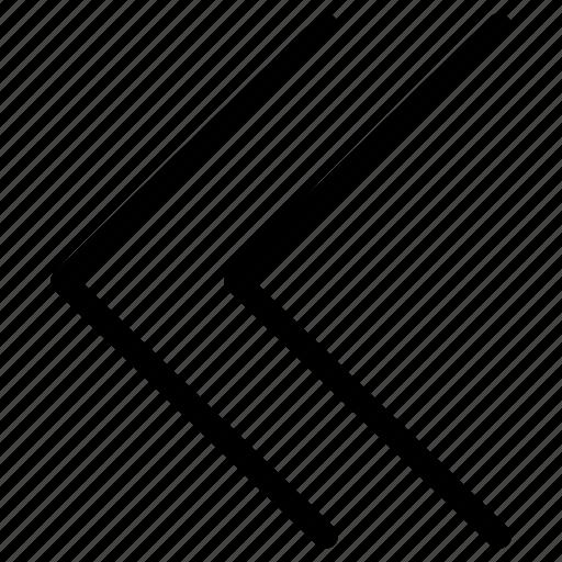 arrows, direction, double, guides, left, vectors icon