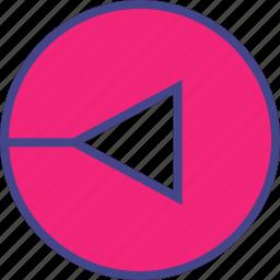 abstract, arrow, design icon